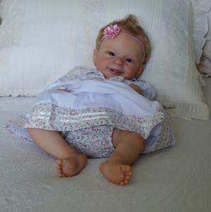 Sunny Reborn Baby by Joanna Kazmierczak